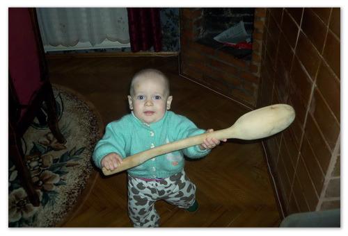 Как научить жевать ребёнка.