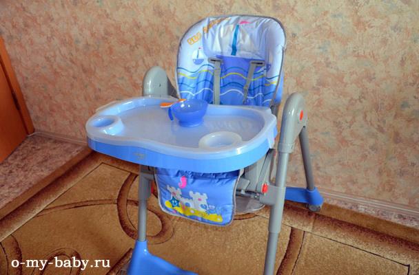 Отзыв Катерины о стульчике Leader Kids RT-002A.