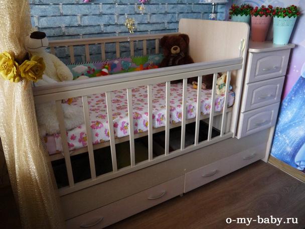 Отзыв Марины о детской кроватке Антел Ульяна-У.