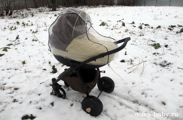 Легко преодолеваем огородные кочки под снегом.