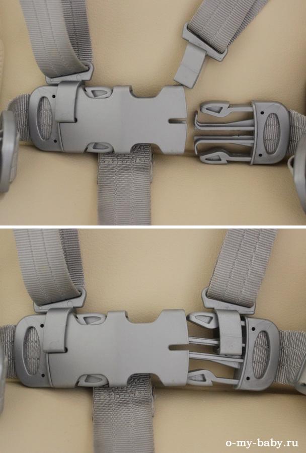 Надёжные ремни безопасности.