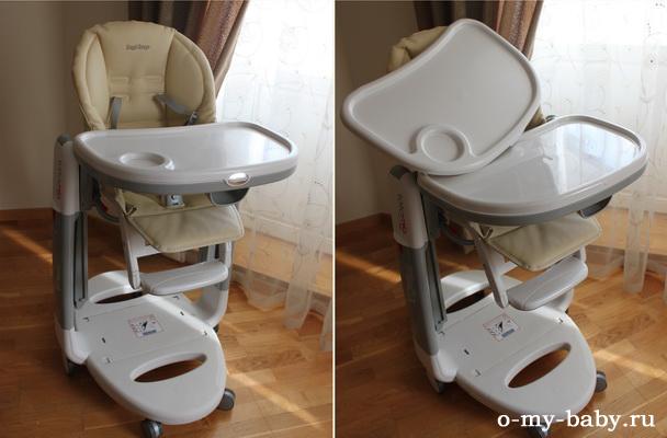 Традиционно у стульчиков верхняя пластиковая часть стульчика легко снимается и моется.