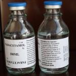 Парацетамол в растворе для инфузий