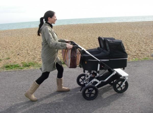 Прогулки с новорождённым осенью и весной