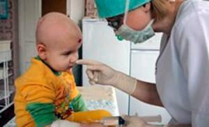 Проявление лейкоза у детей
