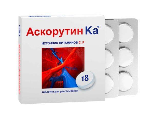 359 Как использовать аскорутин при куперозе