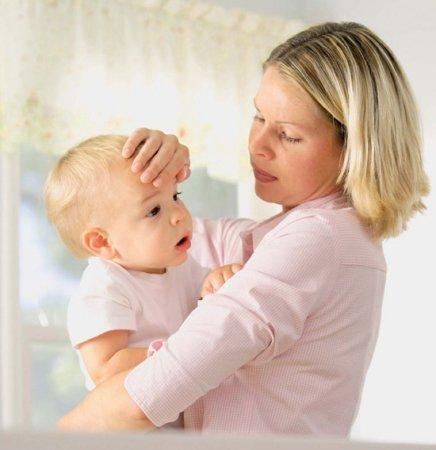 Температура и головная боль у ребенка