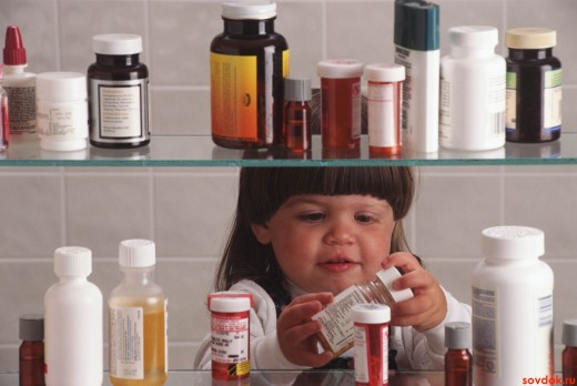 ребёнок и лекарства