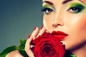Применение лепестков роз для лица и волос