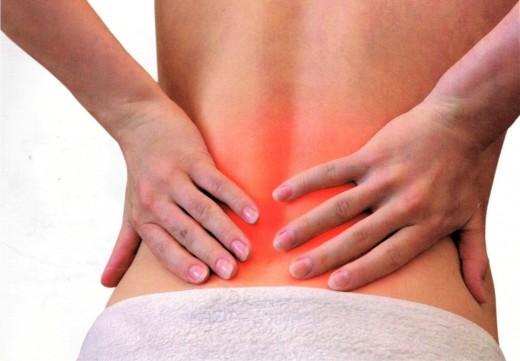 Боль в спине в области почек