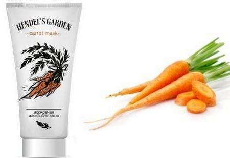 Carrot mask Hendel's Garden