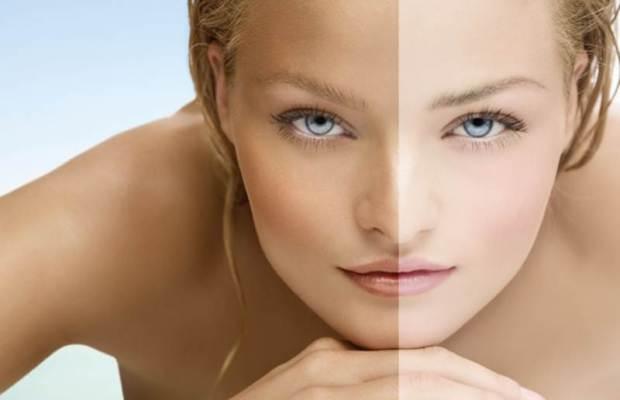 Как осветлить кожу лица