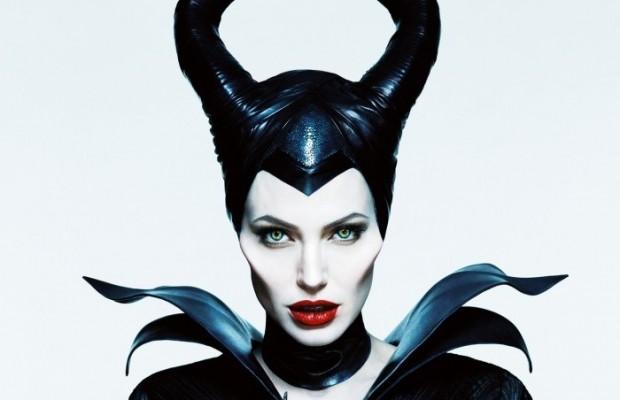 Малефисента - макияж в стиле колдуньи Анджелины Джоли