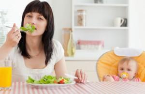 Основы питания в период лактации для мамы