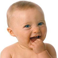 Прорезывание зубов у младенцев