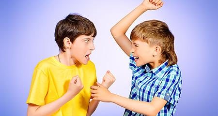 Правила коррекции агрессивного поведения у детей