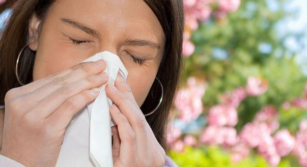 Ребенок с аллергией.