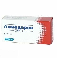"""Антиаритмический препарат """"Амиодарон"""""""