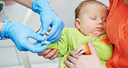 Анализы у новорожденных