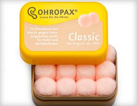 бируши из воска Ohropax Classic