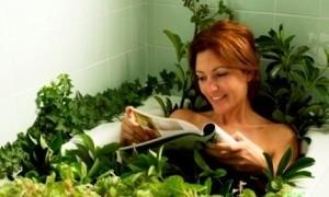 целебная ванна для здоровья спины
