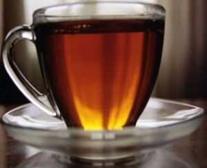 кружка крепкого черного чая