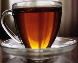 Коробочка с чаем.
