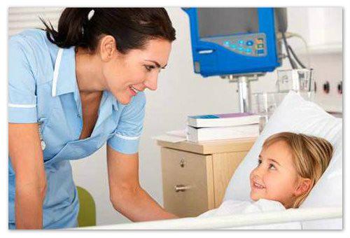 Девочка в больнице
