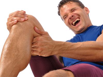 судорога икроножной мышцы у спортсмена