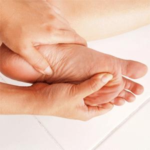 судорога пальцев стопы