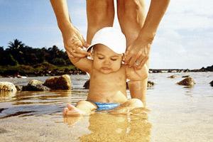 Купание детей в море и водоемах