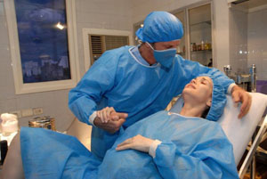 Правильная техника дыхания во время родов