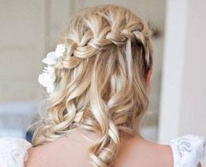 Французский водопад на свадьбу