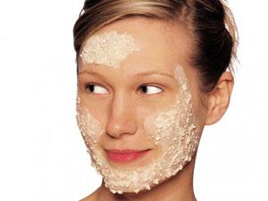 Очищающая геркулесовая маска для лица