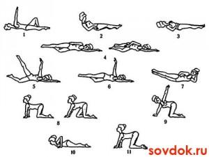 гимнастика при дискинезии