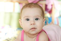 Косят глаза у новорожденного