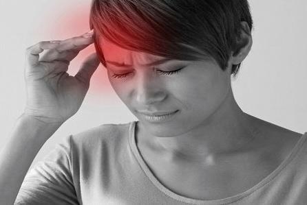 Головная боль при наклоне головы вниз
