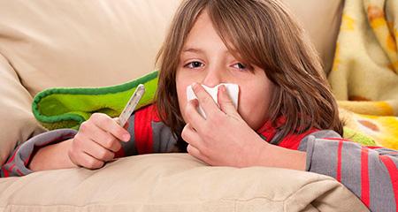 Как распознать грипп у детей: симптомы