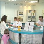 Холл клиники Здоровье