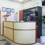 Холл клиники Мир Здоровья