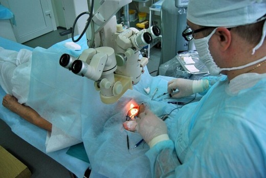 Имплантация искусственного хрусталика
