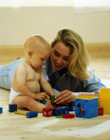 Как заниматься с ребенком 6-7 месяцев
