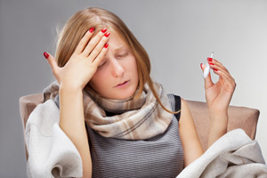 Важно избегать бактериальных и вирусных инфекций: ангина, грипп и т.д.