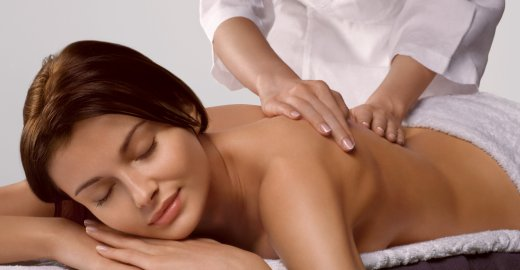 оздаравливающий массаж спины