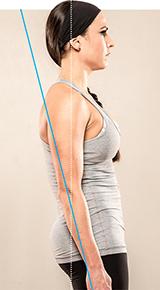 Нарушения осанки: сутулая спина