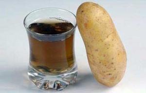 Сок из клубней картофеля
