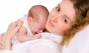 Колики у новорожденных - как предупредить