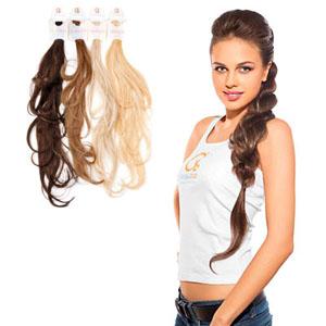 Плетение кос при помощи накладных волос