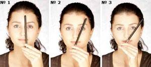 Как выбрать форму бровей для круглого лица
