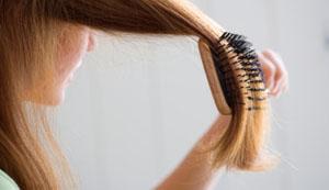 Способ расчесывания запутанных волос